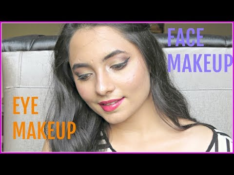 EYE AND FACE MAKEUP | EID MAKEUP | VIDEO | FALGUNI THACKER | BEAUTY,BOOKS & PIZZA❤