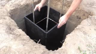 видео Точечный фундамент