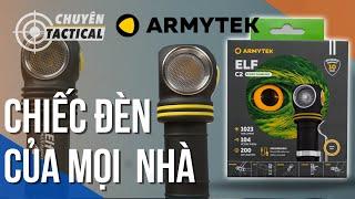 Trên tay Đèn Pin Gù EDC ARMYTEK ELF C2  phiên bản mới 2020 - Chuyentactical.com