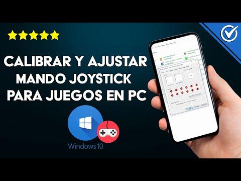 Cómo Configurar, Calibrar y Ajustar el Mando Joystick para los Juegos en mi PC Windows 10