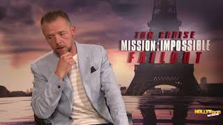 Simon Pegg 'Half-Expected' Tom Cruise To Get Hurt On 'M:I -- Fallout'