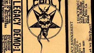 LEGACY (TESTAMENT) - Demo: 1 FULL DEMO (1985)