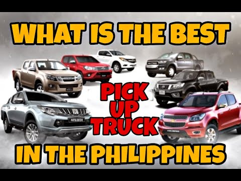 WHAT IS THE BEST PICK UP IN THE PHILIPPINES