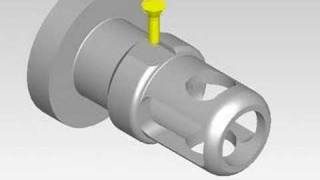 CAM SIMULATION(a part for model helicopter)