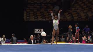 Selena Harris – Floor Exercise – 2018 U.S. Gymnastics Championships – Junior Women Day 1