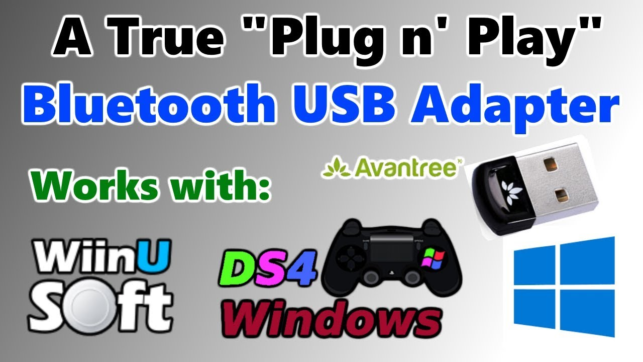 ds4 windows bluetooth adapter