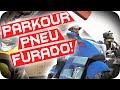 GTA 5 PC Online - DESAFIO PARKOUR COM PNEU FURADO!