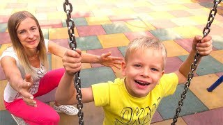 Yes Yes Playground Song   Kids Songs & Nursery Rhymes by Dima Family Show