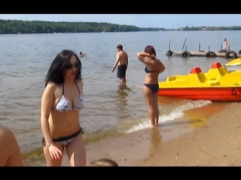 """Bay of Joy"" Beach. 25.05.14. Pirogovo. Moscow Region Russia. Бухта Радости."