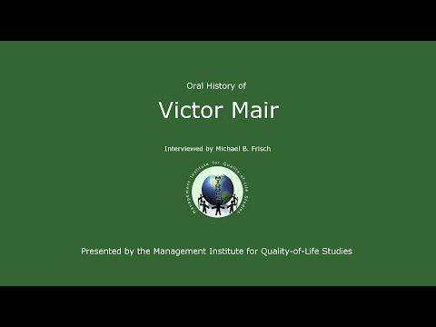 Oral History - Victor Mair