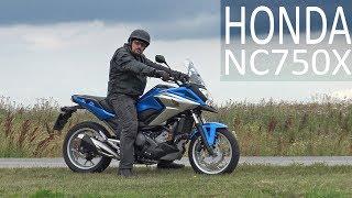 Кроссовер с автоматом. Honda NC750X #МОТОЗОНА №32