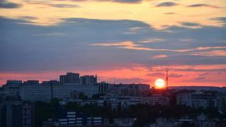 Sunset At Bagnolet In Time Lapse Mode With Nikon D5100