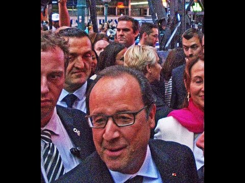 Best of France President Holland of France visits event