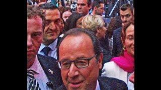 Best of France President Holland of France visits event