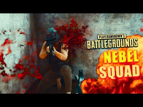 Nebel-Squad in Playerunknown's Battlegrounds (First Person)