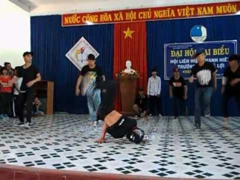 THPT Lê Lợi Kon Tum -TyPhoon Crew Break Dance