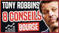 DEVENIR RICHE AVEC LA BOURSE : LES CONSEILS DE TONY ROBBINS TIRES DE SES 2 LIVRES