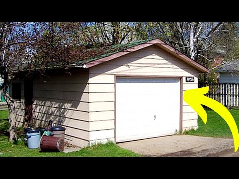 Donna Trasforma un Banale Garage in una Casa da Sogno, Vedere per Credere!