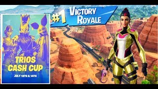 Fortnite Practicing for Trio Cash Cup / Singularity Skin / New item shop soon
