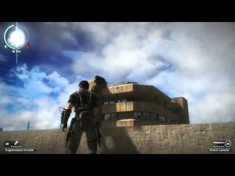 Just cause 2 gameplay with bolopatch mod (Panau city-Parks district 100%)