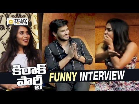 Kirrak Party Team Funny Game || Nikhil, Samyuktha, Simran, Deepthi Sunaina - Filmyfocus.com