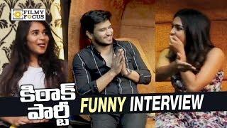 Kirrak Party Team Funny Game  Nikhil Samyuktha Simran Deepthi Sunaina - Filmyfocuscom