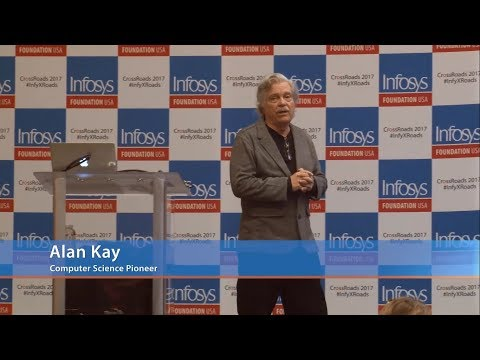 CrossRoads 2017 | Alan Kay keynote - Education That Takes Us To The 22nd Century