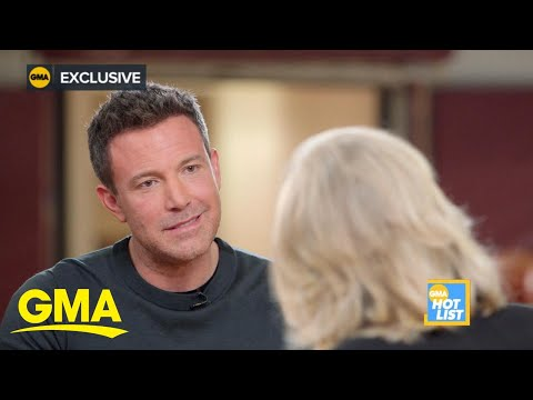 'GMA' Hot List: Ben Affleck opens up about alcoholism in powerful interview