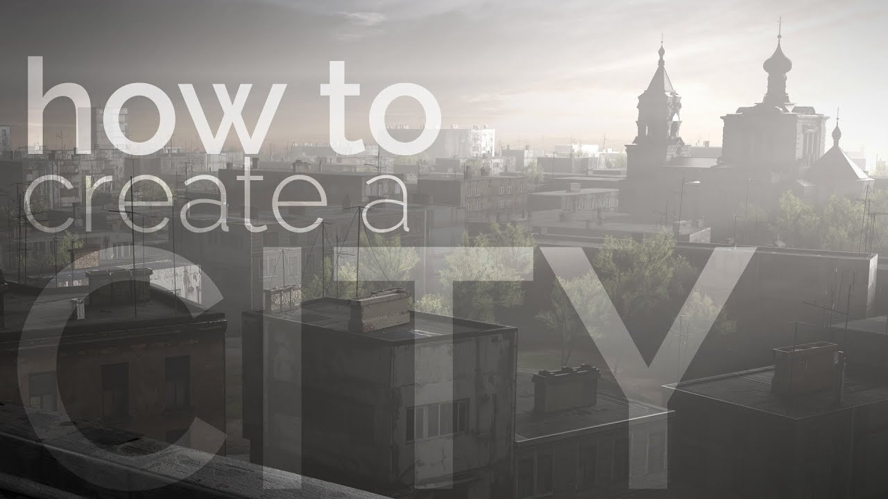 How to Create a City, Covered with Fog in Blender? • Creative Shrimp