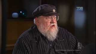 Author George R. R.  Martin - Game of Thrones - Australian Tv Interview Nov. 11, 2013