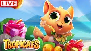 Tropicats: Free Match 3