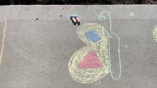 Chalk Art Activities with Louise Henry, JMCC OT