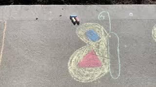 Chalk Art Activities with Louise Henry, JMCC OT