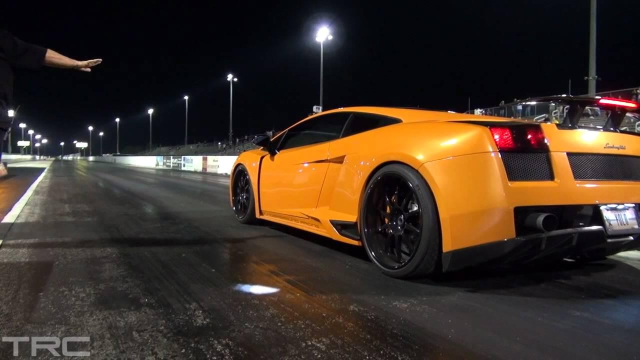 Twin Turbo Lamborghini Gallardo S Drag Ugr And Heffner Youtube