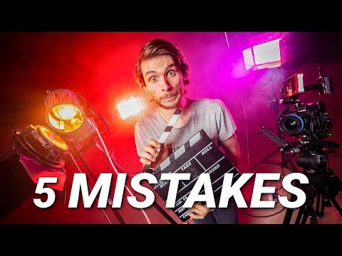 5 (real) FILMMAKING MISTAKES to AVOID