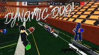 [ROBLOX] DYNAMIC DUO! [Legendary Football Funny Moments #4]