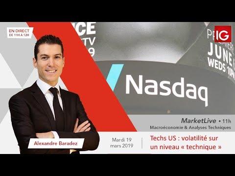 #MarketLive 11h - Mardi 19 mars 2019