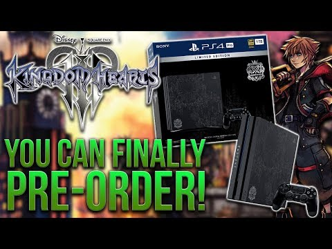 you-can-finally-pre-order-the-kingdom-hearts-3-ps4-pro!