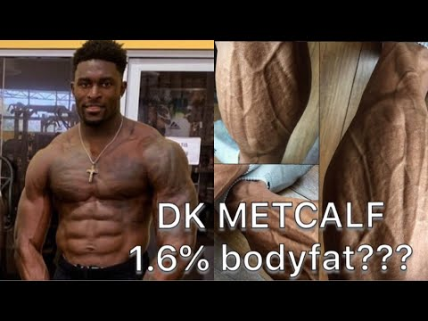 Coach Greg Ifbb Pro Dk Metcalf 1 6 Bodyfat At Nfl Combine Explained Youtube