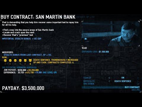 [Payday 2] San Martin Bank OS OD |