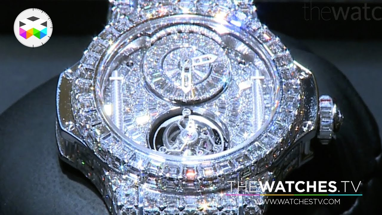 9b6140ca9c61c Hublot goes full diamond - YouTube