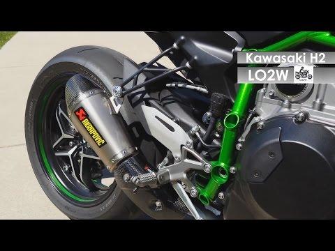 Top 8 Full Exhaust Sound Kawasaki Ninja H2 Akrapovic Yoshimura