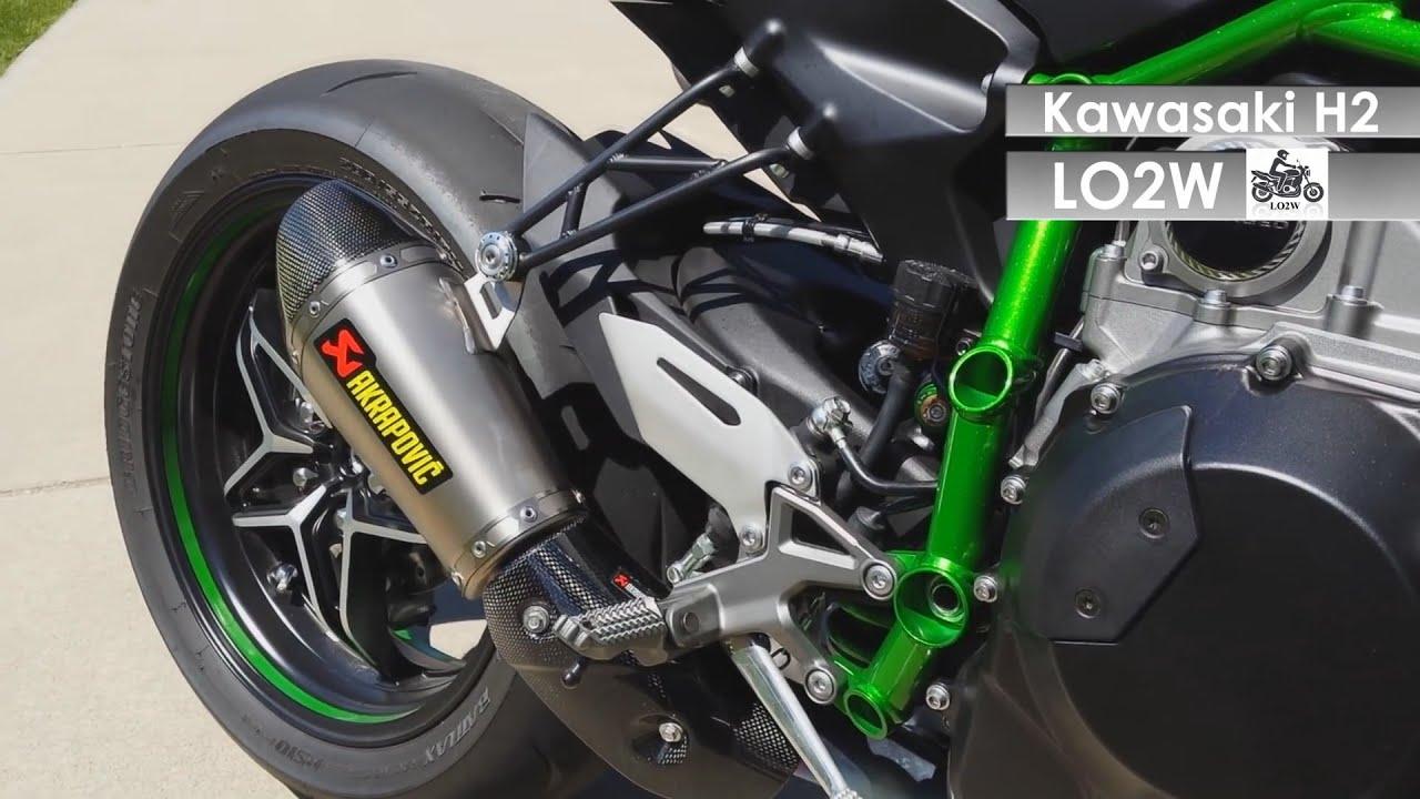 Top 8 Full Exhaust Sound Kawasaki Ninja H2 Akrapovic Yoshimura SC Project A Racing Muffler