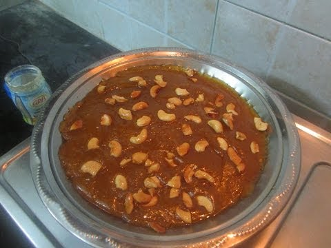 Wheat Halwa or Godhumai Halwa (in tamil)