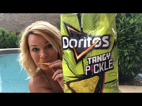 Doritos NEW Tangy Pickle Review