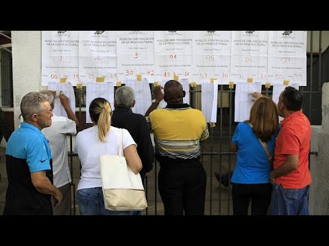 Venezuela escolhe próximo Presidente