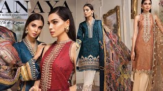 Anaya collection 2019/luxury lawn collection/wedding collection