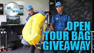 TAYLORMADE OPEN TOUR BAG GIVEAWAY