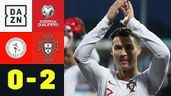 Ronaldo sichert EM-Ticket mit 99. Länderspieltor: Luxemburg - Portugal 0:2 | EM-Quali | DAZN