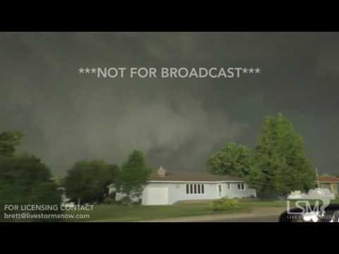 6-12-17 Tornado Bayard, Nebraska 725pm